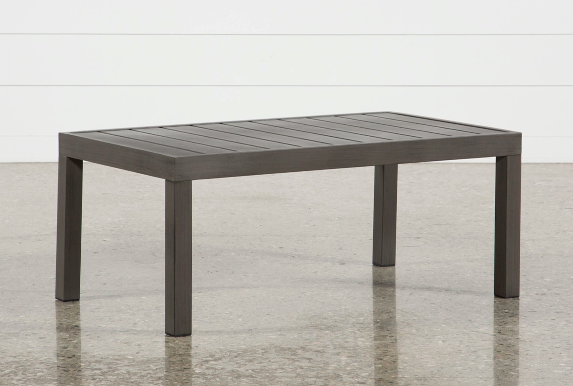 Shining Square Outdoor Dining Table - newlibrarygood.com