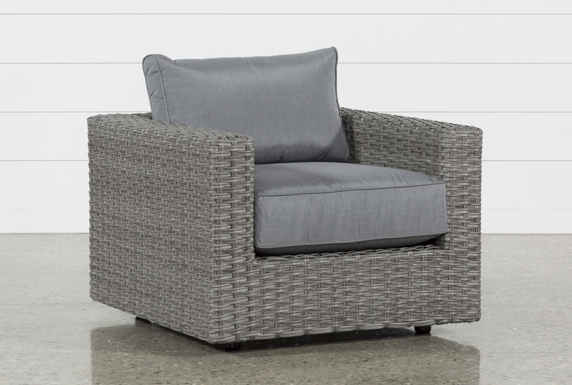 Outdoor Koro Swivel Chair Living Spaces