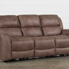 Living Es Sofa Minnie Mouse Flip Open Target What Is A Motion Top 10 Leather Reclining Sofas