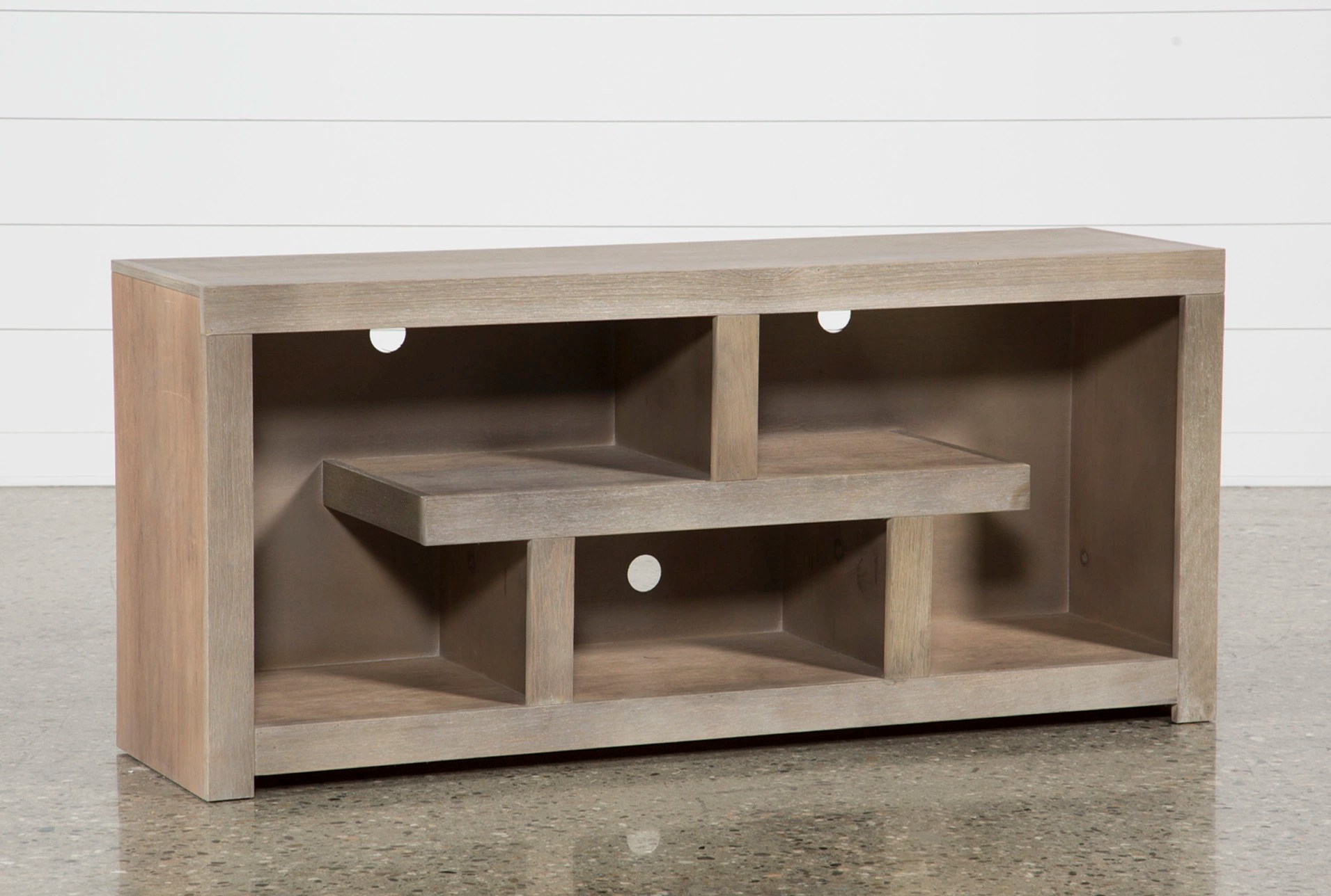 Walton Grey 60 Tv Stand Living Spaces