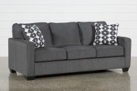 Grey Sofa Beds Lucan Gray Sleeper Sofa Sofas - TheSofa
