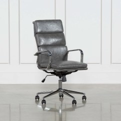 Office Chairs Phoenix Arizona Outdoor Party Moby Grey High Back Chair Living Spaces