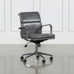 Grey Material Office Chair Lobby Chairs Waiting Room Moby Low Back Living Spaces Qty 1 Has Been Successfully Added To Your Cart