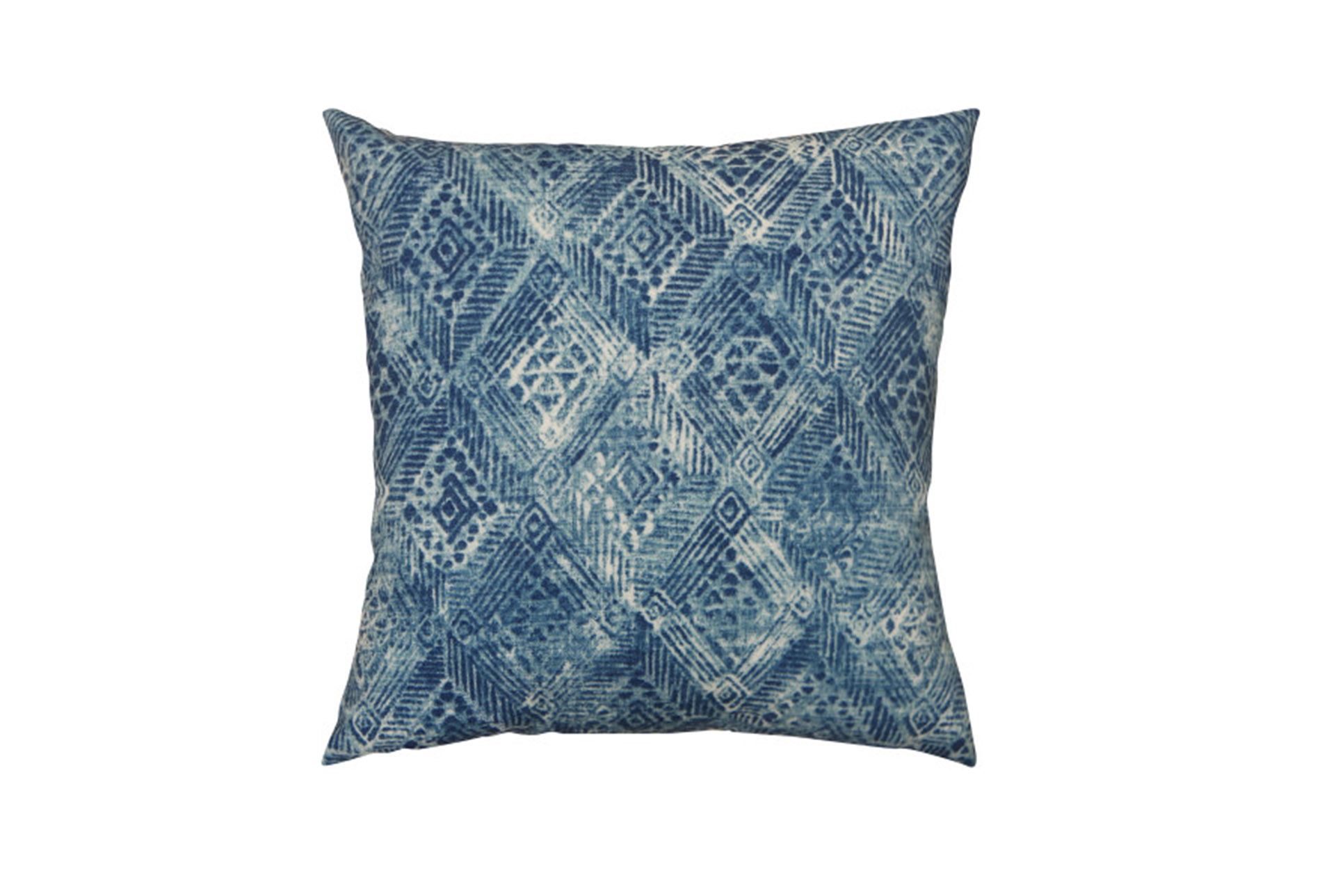 Outdoor Accent Pillow-summer Ikat Indigo 18x18 Living Spaces