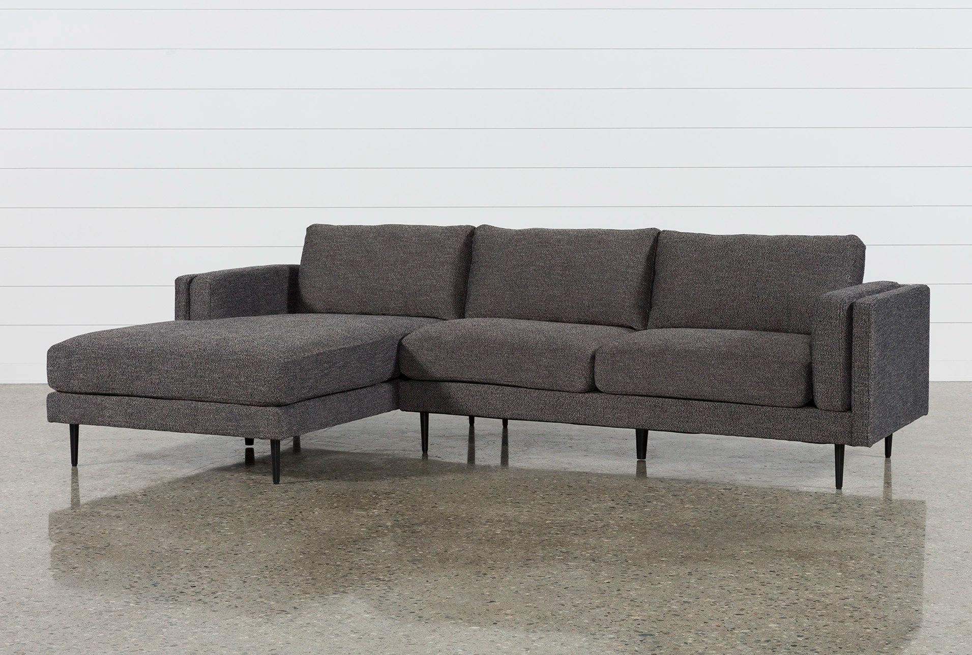 alessandro leather power motion sofa reviews mission table target sectionals sectional sofas under 700 living spaces aquarius dark grey 2 piece w laf chaise