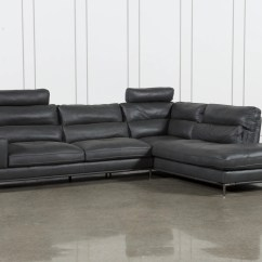 Lucas Beige Orange Leather Sofa Set Ekeskog Ikea Tenny Dark Grey 2 Piece Right Facing Chaise Sectional W