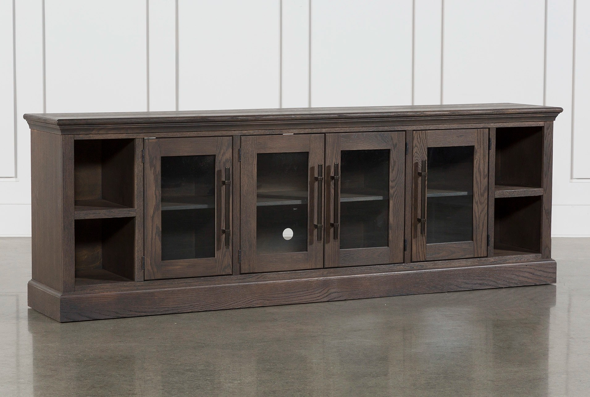 tv stand living room furniture orange county ca wakefield 97 inch spaces 360