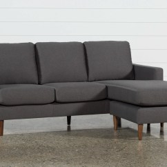 Buchanan Sofa With Chaise Faux Leather For Dogs Reversible 3 Piece Sectional Set Gray Charcoal