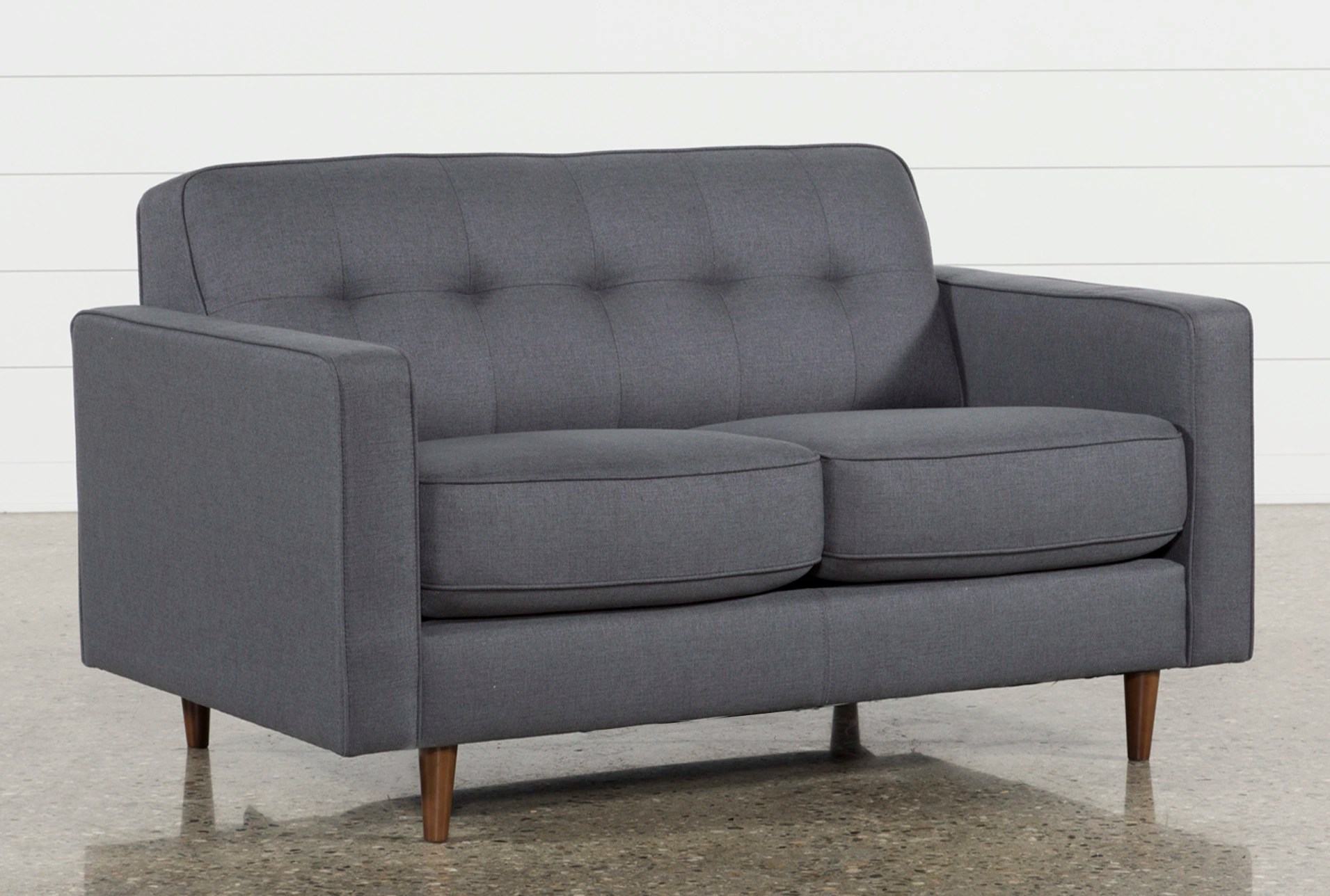 sofa clearance london high back tufted dark grey twin plus sleeper living spaces