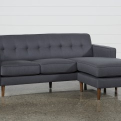 Sofas For Small Es Blue Crushed Velvet Corner Sofa London Dark Grey Reversible Chaise Living Spaces