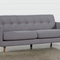 Dark Gray Sofa Leather Bed Corner Unit Allie Grey Living Spaces
