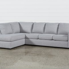 Comfortable Cheap Sleeper Sofa Sectional Sofas With Recliners For Living Spaces Lucy Grey 2 Piece W Laf Chaise