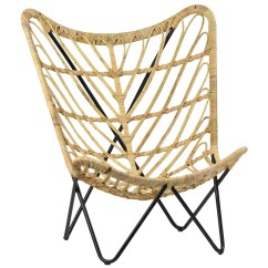 Butterfly Chair Target Ergonomic Back Rattan Living Spaces