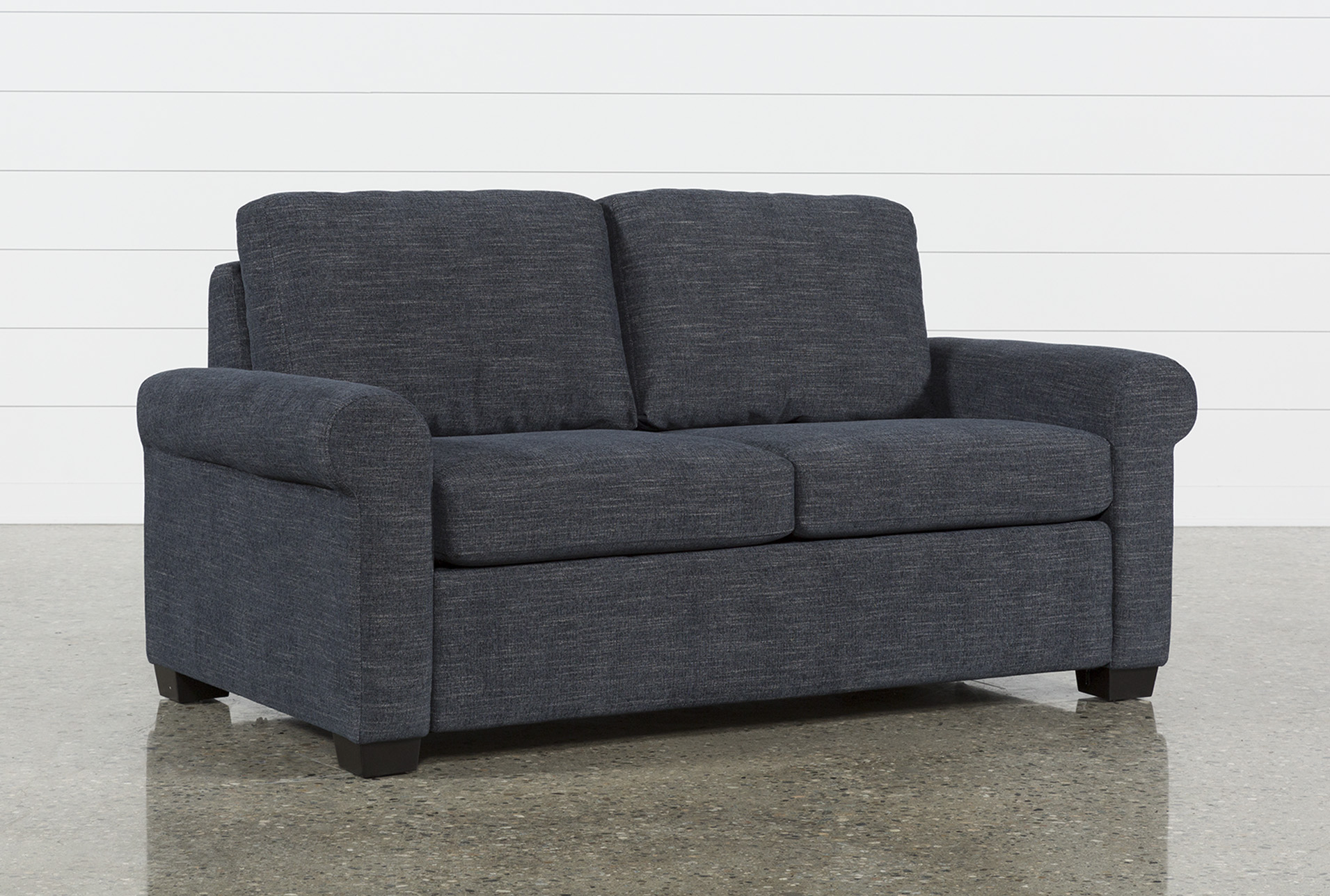 alaina sofa bed queen sleeper ashley sectional sofas alexis denim full living spaces qty 1 has been successfully added to your cart