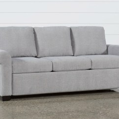 Alaina Sofa Bed Queen Sleeper Sectional Sofas For Apartments Alexis Denim Full Living Spaces Silverpine Plus