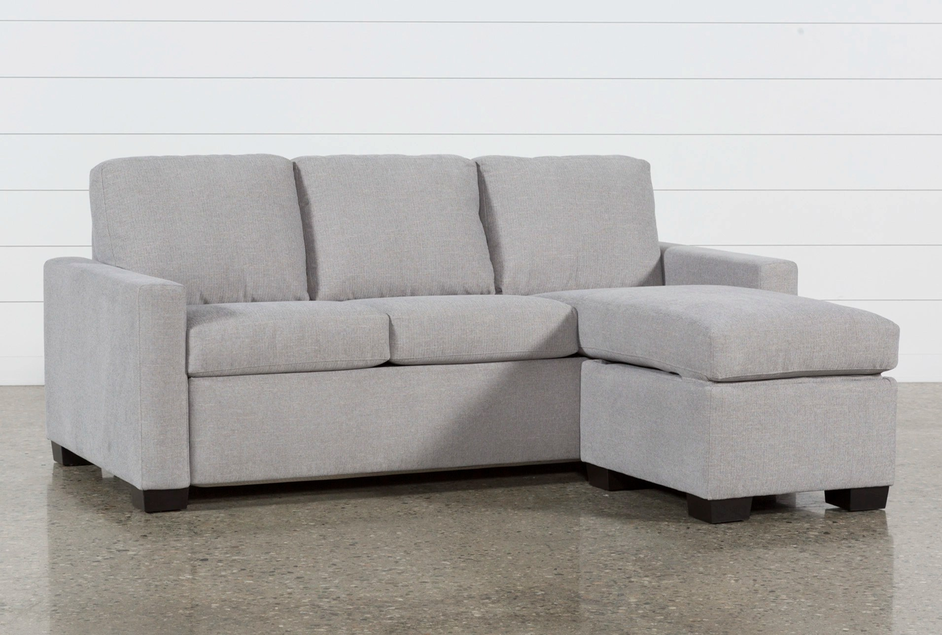 sofa bad steam cleaning sofas mackenzie silverpine queen plus sleeper w storage chaise living spaces