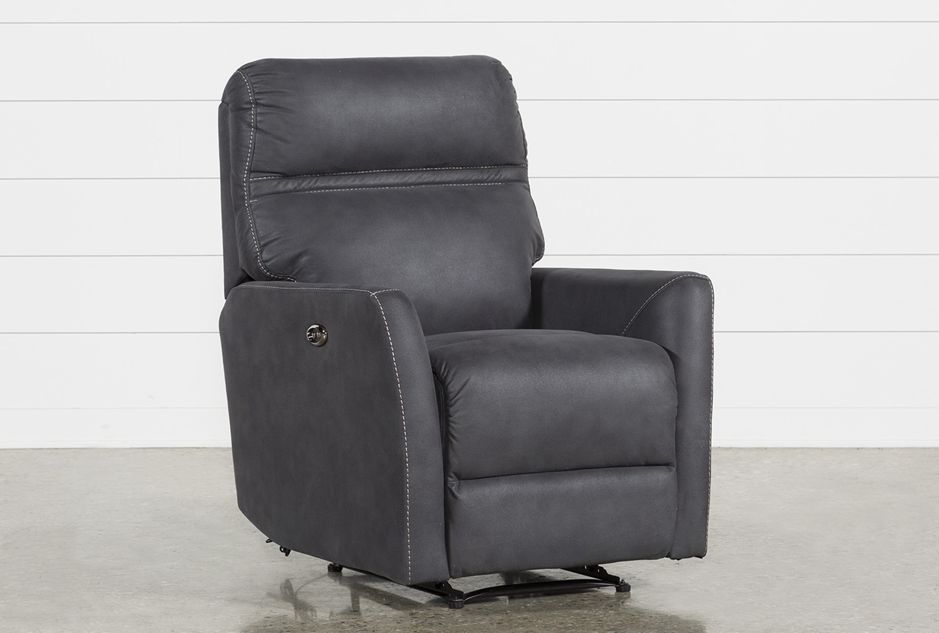 guy brown office chairs chair and table rentals near me recliners for your home living spaces siri dark grey power recliner