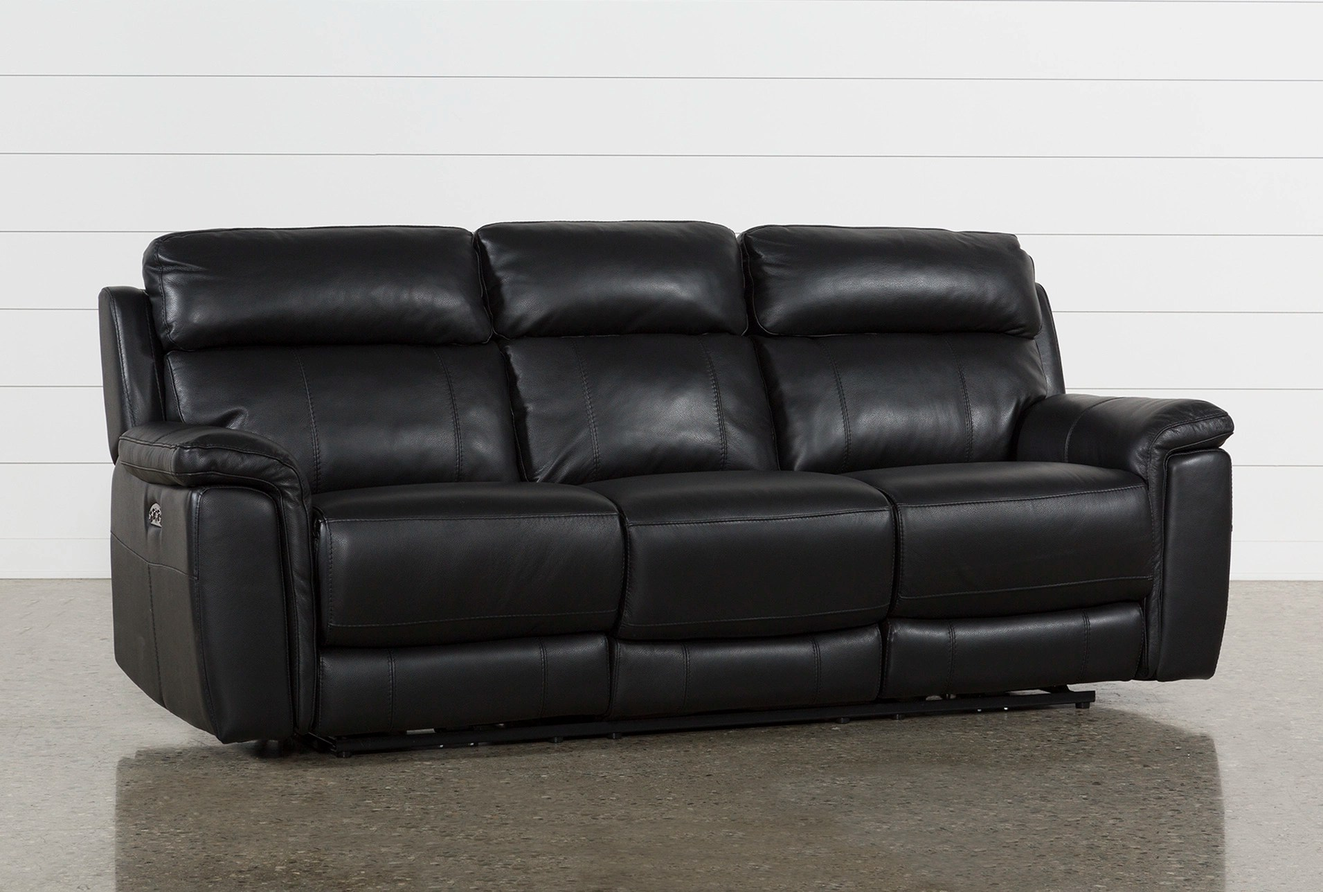 electric recliner sofa not working orlando pride boston breakers sofascore dino black leather power reclining w headrest usb amp qty 1 has been successfully added to your cart