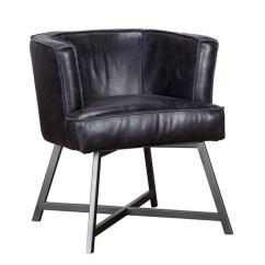 Black Leather Accent Chairs Cool Lounge Raw Edge Chair Living Spaces