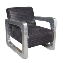 Club Chairs For Small Spaces Amazon Uk Chair Back Covers Black Leather Metal Arm Living
