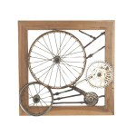 Bicycle Spokes Wall Decor