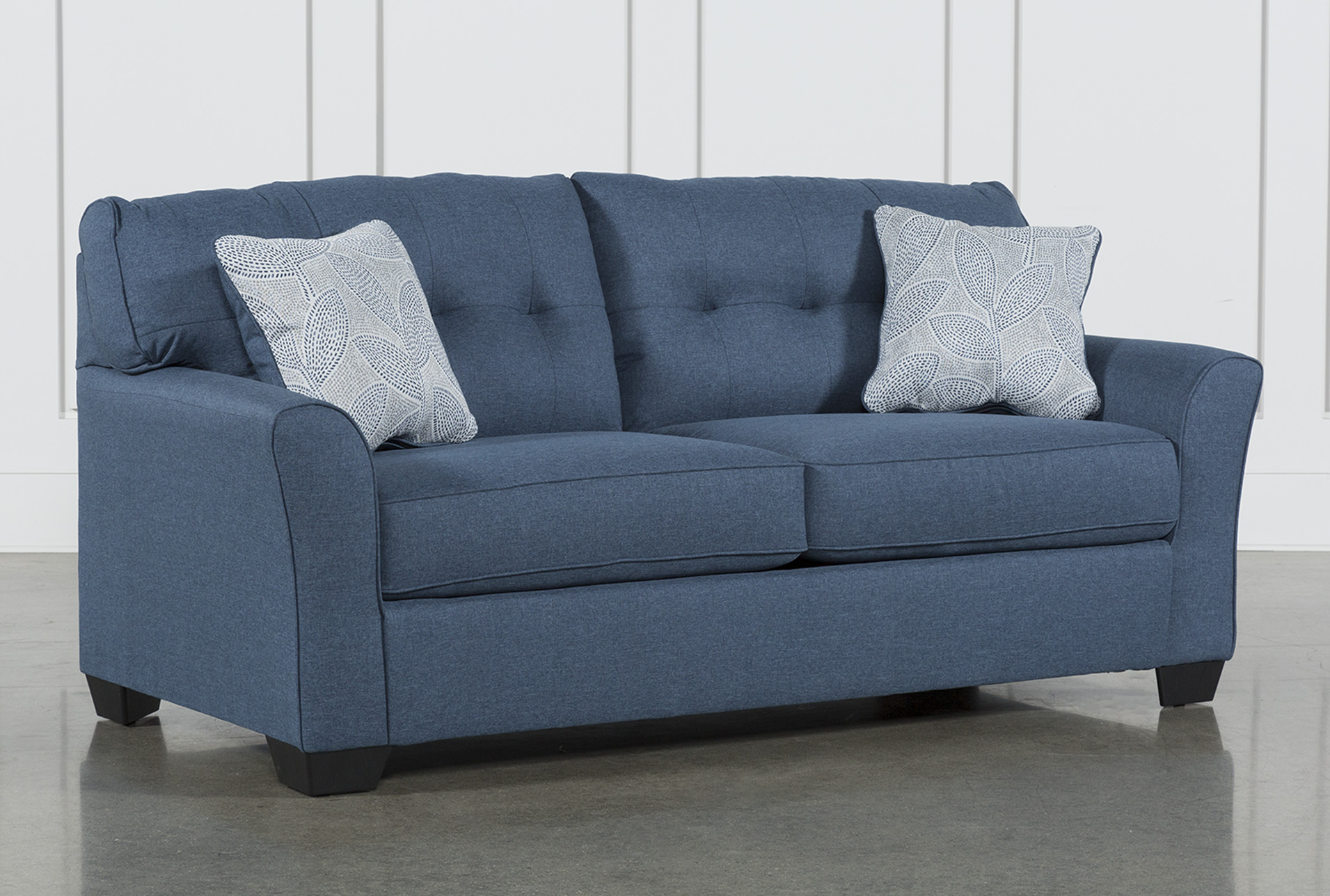 denim living room furniture ikea cabinets jacoby sofa spaces