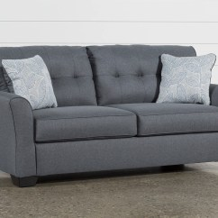 Chair Sofa Beds Single Without Backrest Sleeper Sofas Free Assembly With Delivery Living Spaces Jacoby Gunmetal Full