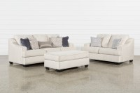 Brumbeck 3 Piece Living Room Set With Storage Ottoman ...