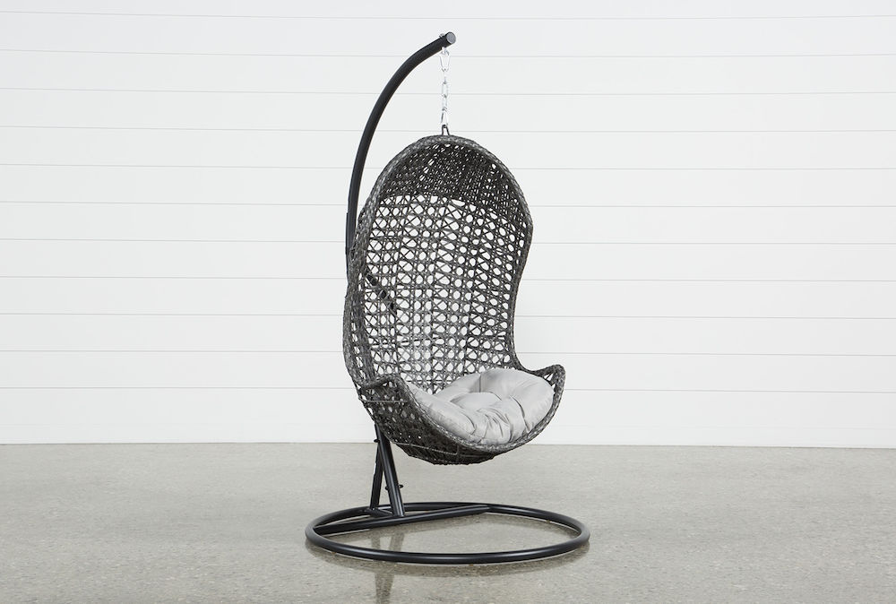 Cedros Outdoor Egg Chair Living Spaces