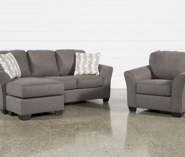 Tucker 2 Piece Living Room Set With Queen Sleeper And Arm Chair Living Spaces