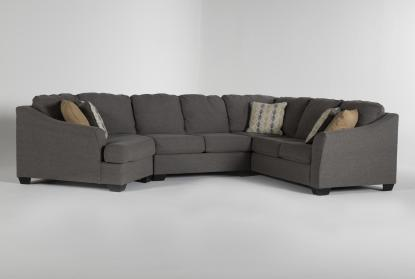 fenton 3 piece 150 sectional with left arm facing cuddler