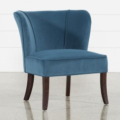 Teal Club Chair Ikea Spare Covers Accent Chairs For Your Home And Office Living Spaces Krista Blue