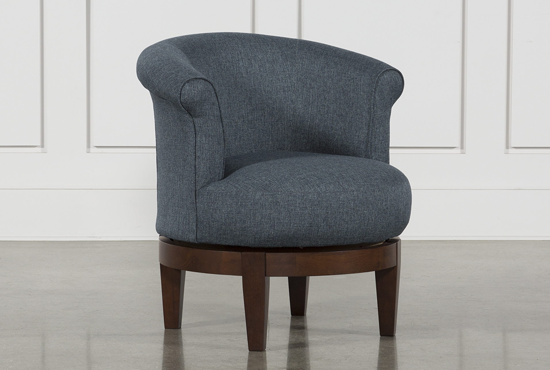 revolving chair other name table and rentals in delaware swivel chairs living spaces theo ii