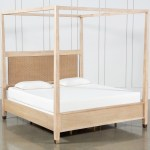 Gramercy Queen Canopy Bed By Nate Berkus And Jeremiah Brent Living Spaces