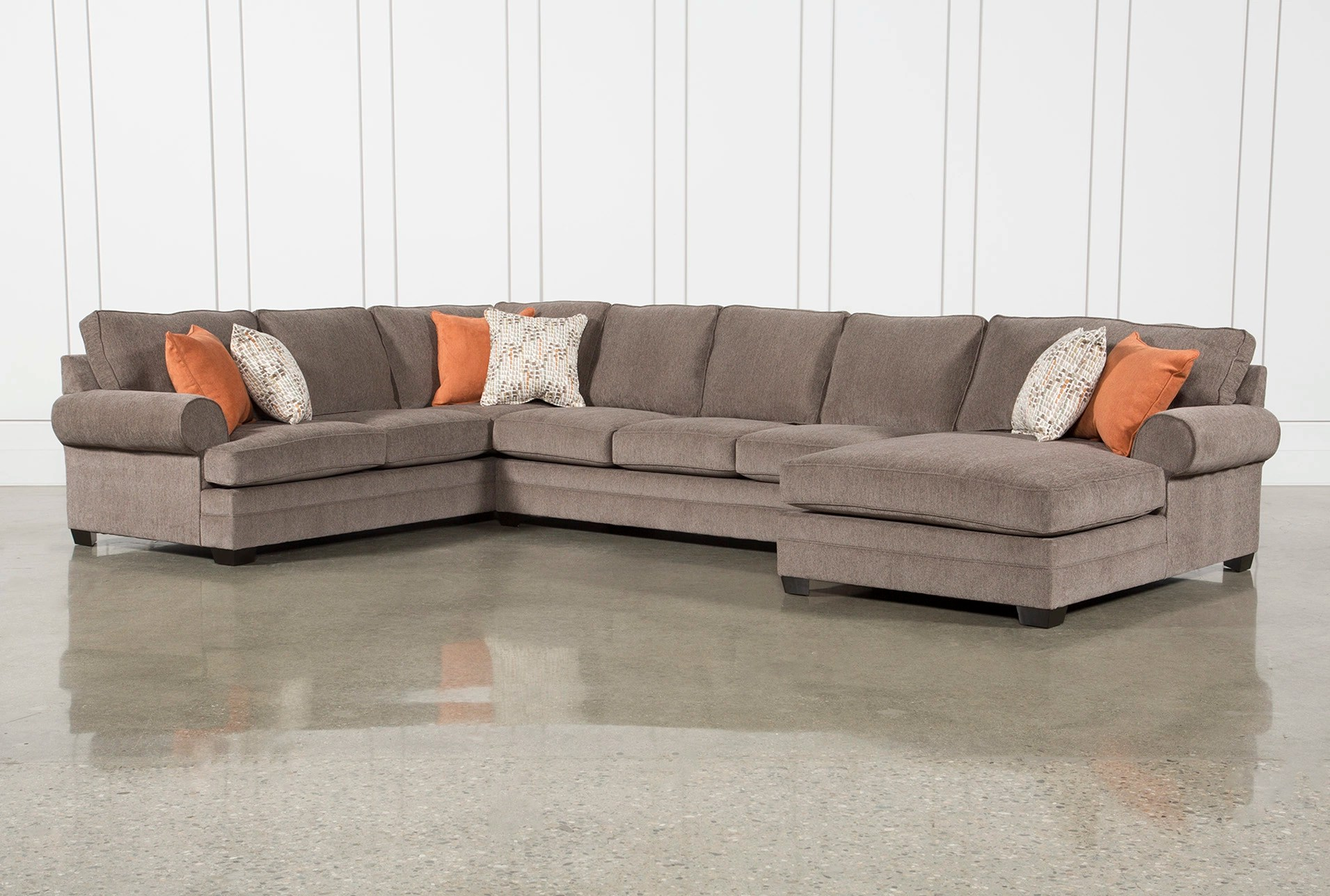 living room sets sectionals best wall pictures sectional sofas spaces karen ii 3 piece