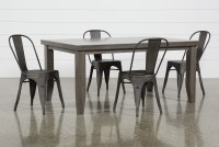 Ashford II 5 Piece Dining Set With Delta Bronze Chairs ...