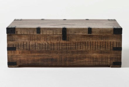 wally lift top trunk coffee table