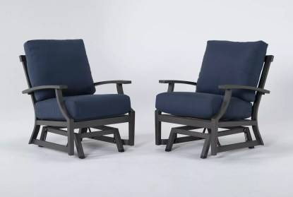 martinique outdoor glider lounge chair