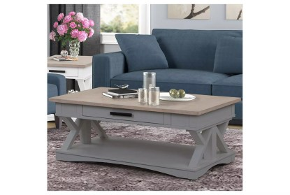 americana dove modern cocktail table