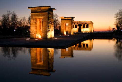 Image result for templo de debod madrid