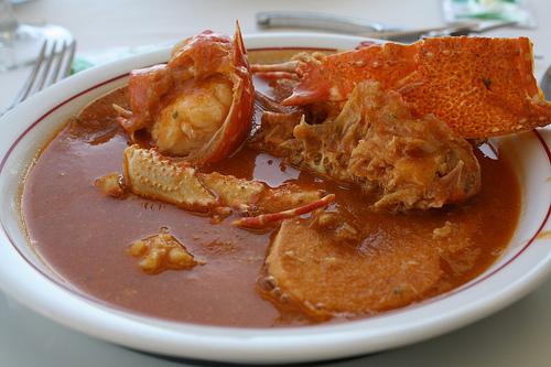 Resultado de imagen de sopa de langosta costa brava