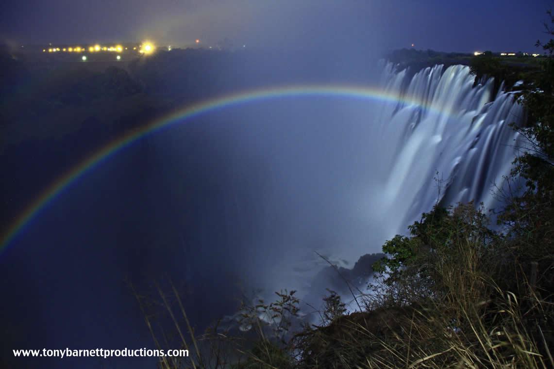 Rainbow Falls Hawaii Wallpaper Somewhere Over The Moonbow Livingstone News