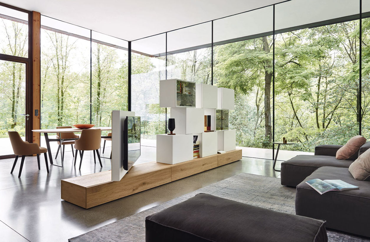 meuble tv sur mesure fabrication