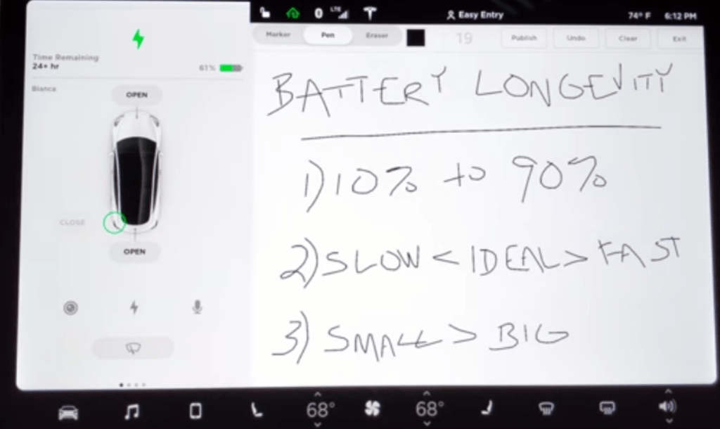 Electric Vehicle Best Battery Practices As Told From A Tesla Model 3