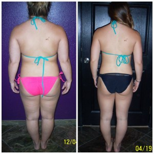 Terra G Before and After back shot