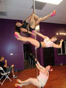 Just Poling around with friends at an Open House Showcase!
