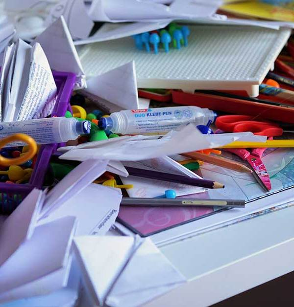 Helping Your Anxious Child Declutter & Organize