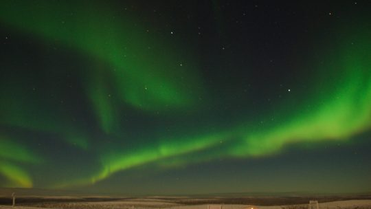 Dancing in the sky ~ The Northern Lights 空中起舞 ~ 北極光