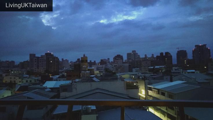 Dawn in Taiwan
