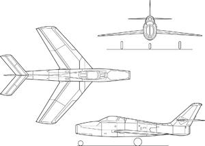 Republic F-84F Thunderstreak Airplane Videos and Airplane